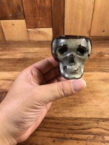 他の写真3: Skull Ceramic Shot Glass スカル ビンテージ ショットグラス 陶器 50年代