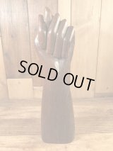 Fig Hand Sign Wooden Figurine フィグサイン ビンテージ 置物 木彫り 70年代