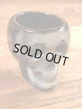 Skull Ceramic Shot Glass スカル ビンテージ ショットグラス 陶器 50年代