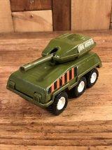 """Buddy L """"HQ-4929"""" Military Tank Metal Toy 戦車 ビンテージ カートイ バディーエル 70年代"""
