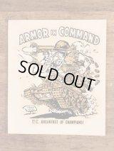 "Ed ""Big Daddy"" Roth ""Armor In Command"" Water Slide Decal エドロス ビンテージ 水張りステッカー ウォータースライドデカール 60年代"
