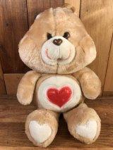 "Kenner Care Bear ""Tenderheart Bear"" Plush Doll ケアベア ビンテージ プラッシュドール ケナー 80年代"
