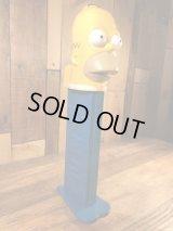 "The Simpsons ""Homer"" Giant Pez Dispenser シンプソンズ ビンテージ ジャイアントペッツ ディスペンサー 2000年代〜"