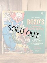 "Larry Harmon's ""Bozo's"" Christmas Sing Along LP Record ボゾクラウン ビンテージ レコード LP盤 70年代"