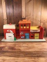 Fisher-Price Little People Play Family Village リトルピープル ビンテージ プレイハウス フィッシャープライス 70年代