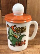 "Avon ""Gaylord Gator"" Shampoo Mug ゲイロードガーター ビンテージ シャンプーマグ エイボン 70年代"