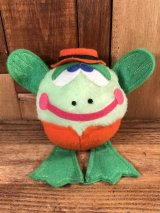 Philmon & Hart Laboratories Frog Mini Plush Doll カエル ビンテージ プラッシュドール 80年代