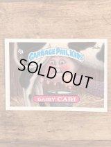 "Topps Garbage Pail Kids ""Dairy Cari"" Sticker Card 252b ガーベッジペイルキッズ ビンテージ ステッカーカード 80年代"