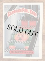 """Topps Garbage Pail Kids """"Alexander The Grate"""" Sticker Card 289b ガーベッジペイルキッズ ビンテージ ステッカーカード 80年代"""