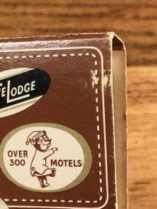 """他の写真1: Universal Match Travelodge """"Sleepy Bear"""" Matchbook スリーピーベア ビンテージ マッチブック トラベロッジ 50~60年代"""