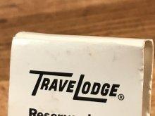 """他の写真3: Diamond Match Travelodge """"Sleepy Bear"""" Matchbook スリーピーベア ビンテージ マッチブック トラベロッジ 70~80年代"""