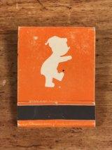 "Balboa Supply Travelodge ""Sleepy Bear"" Matchbook スリーピーベア ビンテージ マッチブック トラベロッジ 70年代"