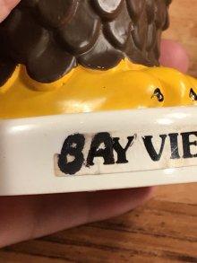 """他の写真1: Dakin """"Bay View Federal Savings"""" Plastic Coin Bank ベイビュー ビンテージ コインバンクドール 貯金箱 70年代"""