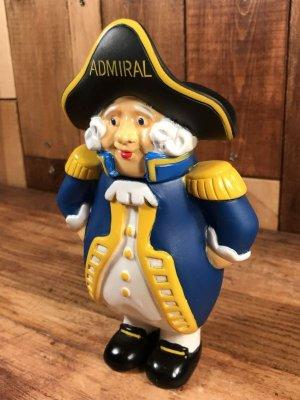 アドバタイジングキャラクターのAdmiral Groupの80'sヴィンテージコインバンクフィギュア