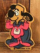 Cartoon Underdog Sponge アンダードッグ ビンテージ スポンジ ウルトラわんちゃん 60〜70年代