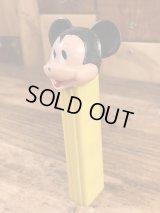 """Disney """"Mickey Mouse"""" No Feet Pez Dispenser ミッキーマウス ビンテージ ペッツ 足無し ディズニー 60〜70年代"""