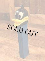 "Looney Tunes ""Daffy Duck"" No Feet Pez Dispenser ダフィーダック ビンテージ ペッツ 足無し ルーニーテューンズ 70年代"