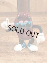 """Applause California Raisins """"Turquoise Sunglasses"""" PVC Figure カリフォルニアレーズンズ ビンテージ PVCフィギュア ターコイズサングラス 80年代"""