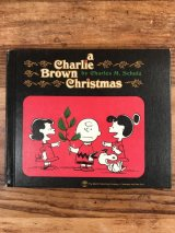 "Snoopy Peanuts Gang ""Charlie Brown Christmas"" Picture Book スヌーピー ビンテージ 絵本 ピーナッツギャング 60〜70年代"