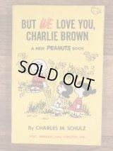 """But We Love You,Charlie Brown"" A New Peanuts Comic Book スヌーピー ビンテージ コミック ピーナッツギャング 60年代"