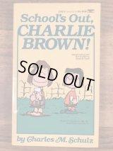 "Snoopy Peanuts Gang ""School's Out,Charlie Brown!"" Comic Book スヌーピー ビンテージ コミックブック 漫画本 90年代"