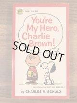 "Snoopy Peanuts Gang ""You're My Hero,Charlie Brown!"" Comic Book スヌーピー ビンテージ コミックブック 漫画本 70年代"