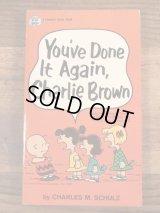 "Snoopy Peanuts Gang ""You're Done It Again,Charlie Brown"" Comic Book スヌーピー ビンテージ コミックブック 漫画本 70年代"