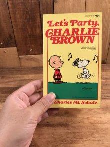"""他の写真3: Snoopy Peanuts Gang """"Let's Party,Charlie Brown"""" Comic Book スヌーピー ビンテージ コミックブック 漫画本 80年代"""