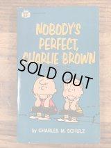 "Snoopy Peanuts Gang ""Nobody's Perfect,Charlie Brown"" Comic Book スヌーピー ビンテージ コミックブック 漫画本 60〜70年代"
