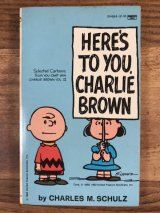 "Snoopy Peanuts Gang ""Here's To You,Charlie Brown"" Comic Book スヌーピー ビンテージ コミックブック 漫画本 80年代"