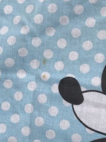"""他の写真1: Disney Character """"Polka Dot"""" Box Sheet ディズニー ビンテージ ボックスシーツ ドット 70年代"""