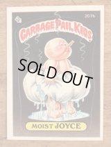 "Topps Garbage Pail Kids ""Moist Joyce"" Sticker Card 207b ガーベッジペイルキッズ ビンテージ ステッカーカード 80年代"