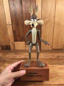 """他の写真3: Dakin Looney Tunes """"Wile E.Coyote"""" Coin Bank Figure ワイリーコヨーテ ビンテージ コインバンク ルーニーテューンズ 70年代"""