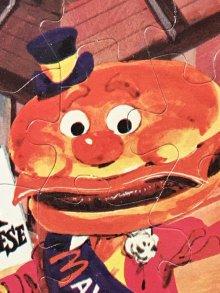 """他の写真2: McDonaldland """"Mayor McCheese"""" Mini Jigsaw Puzzle メイヤーマックチーズ ビンテージ ジグソーパズル マクドナルド 70年代"""