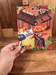 """他の写真3: McDonaldland """"Mayor McCheese"""" Mini Jigsaw Puzzle メイヤーマックチーズ ビンテージ ジグソーパズル マクドナルド 70年代"""