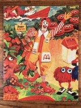 """McDonaldland """"Ronald"""" Mini Jigsaw Puzzle ロナルド ビンテージ ジグソーパズル マクドナルド 70年代"""