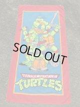 Teenage Mutant Ninja Turtles Beach Towel タートルズ ビンテージ ビーチタオル 90年代