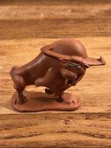 """Sugar Bear Adventure Team """"Bull"""" PVC Figure シュガーベア ビンテージ PVCフィギュア 雄牛 80年代"""