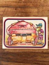 """LEAF Baseball Awesome All Stars Stickers """"Freddie Fats"""" 9 ベースボールオウサムオールスターズ ビンテージ ステッカーカード 80年代"""