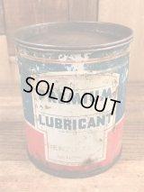 Premium Lubricant Tin Can プレミアムルーブリカント ビンテージ ブリキ缶 50年代