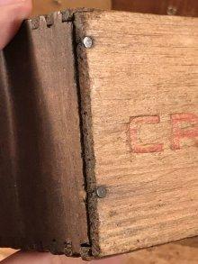 他の写真1: Abbotts Cream Cheese Wood Box アボッツ ビンテージ チーズボックス 木箱 〜40年代