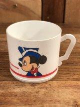 Disney Mickey & Minnie Plastic Mini Cup ミッキーマウス ビンテージ プラスチックカップ ミニーマウス 70〜80年代