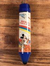 Monogram Disney Astro Mickey's Pencil Case ミッキーマウス ビンテージ ペンシルケース アストロノーツ 70年代
