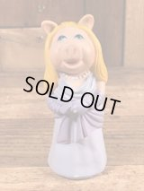 "Fisher-Price The Muppet Show ""Miss Piggy"" Players Figure ミスピギー ビンテージ フィンガーパペット 指人形 70年代"