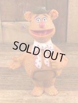 "Fisher-Price The Muppet Show ""Fozzie Bear"" Players Figure フォジー ビンテージ フィギュア マペットショウ 70年代"
