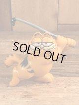 """Garfield """"Golf"""" PVC Figure ガーフィールド ビンテージ PVCフィギュア ゴルフ 80年代"""