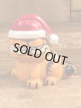 "Garfield ""Christmas"" PVC Figure ガーフィールド ビンテージ PVCフィギュア クリスマス 80年代"