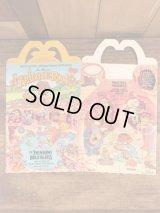 "McDonald's ""Fraggle Rock"" Happy Meal Box マクドナルド ビンテージ ハッピーミールボックス ミールトイ 80年代"