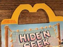 """他の写真1: McDonald's """"Oliver & Company"""" Happy Meal Box マクドナルド ビンテージ ハッピーミールボックス ミールトイ 80年代"""
