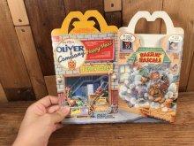 """他の写真3: McDonald's """"Oliver & Company"""" Happy Meal Box マクドナルド ビンテージ ハッピーミールボックス ミールトイ 80年代"""